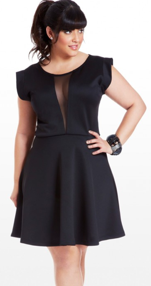 Women'S Simple Black Dresses Plus Size 82