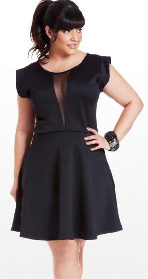 CLASSIC PLUS SIZE STYLE: THE LITTLE BLACK DRESS