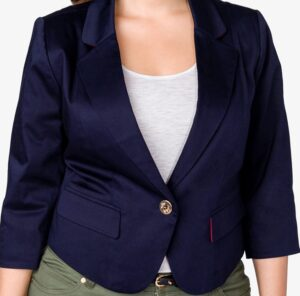 Forever 21 Nautical Single Button Blazer