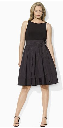 Black Dress  Size on Classic Plus Size Style  The Little Black Dress    Stylish Curves