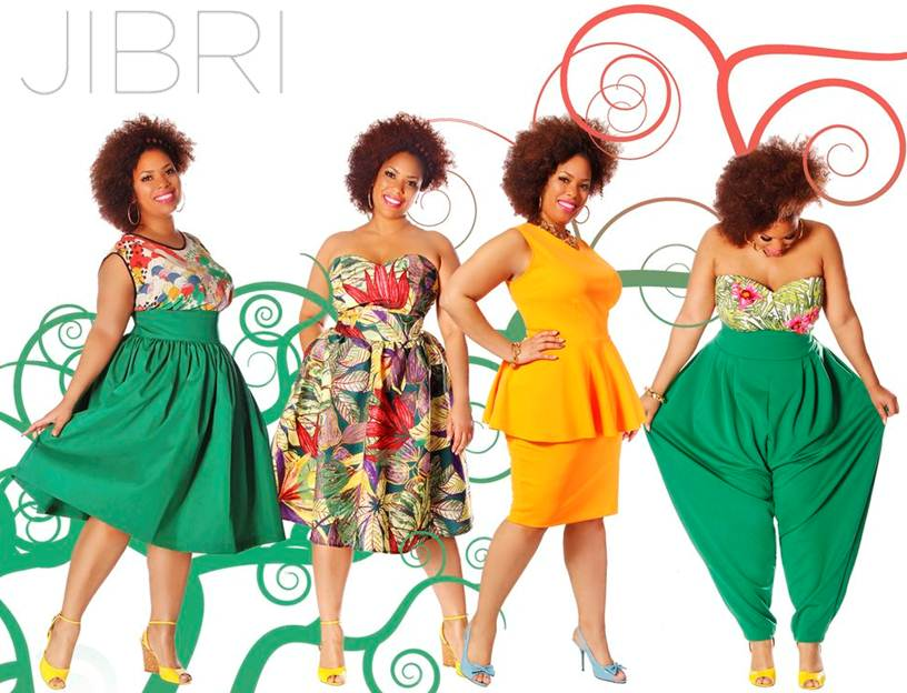 Plus Size Designer Jibri Unveils A Colorful And Tropical Spring