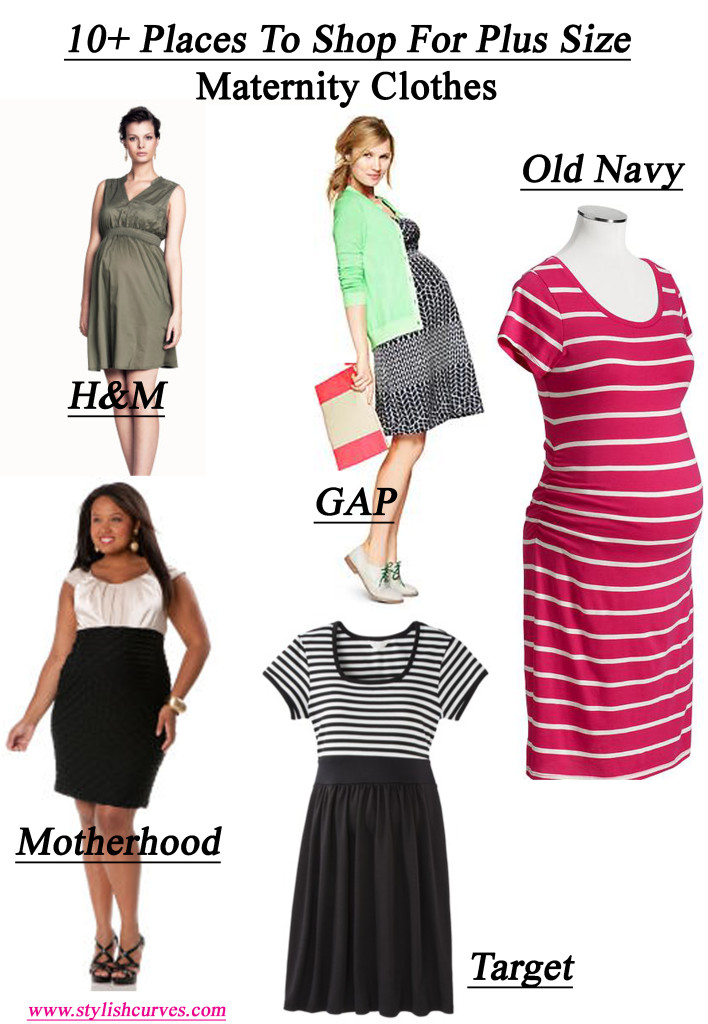Plus size maternity clothes sears