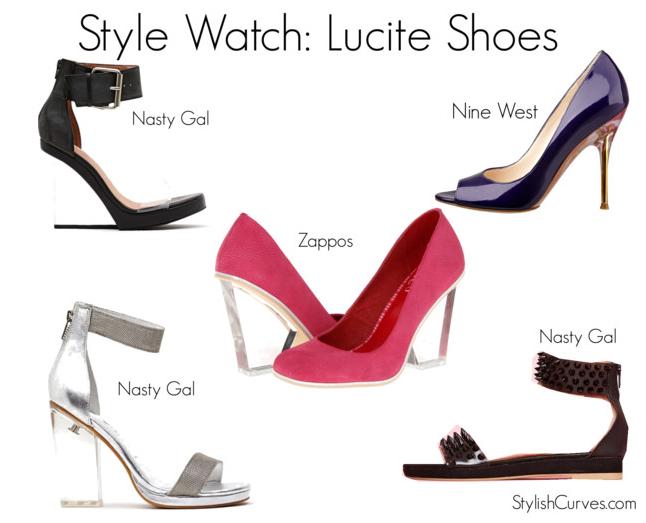 100148d58865 Shoes Lucite - Style Guru  Fashion