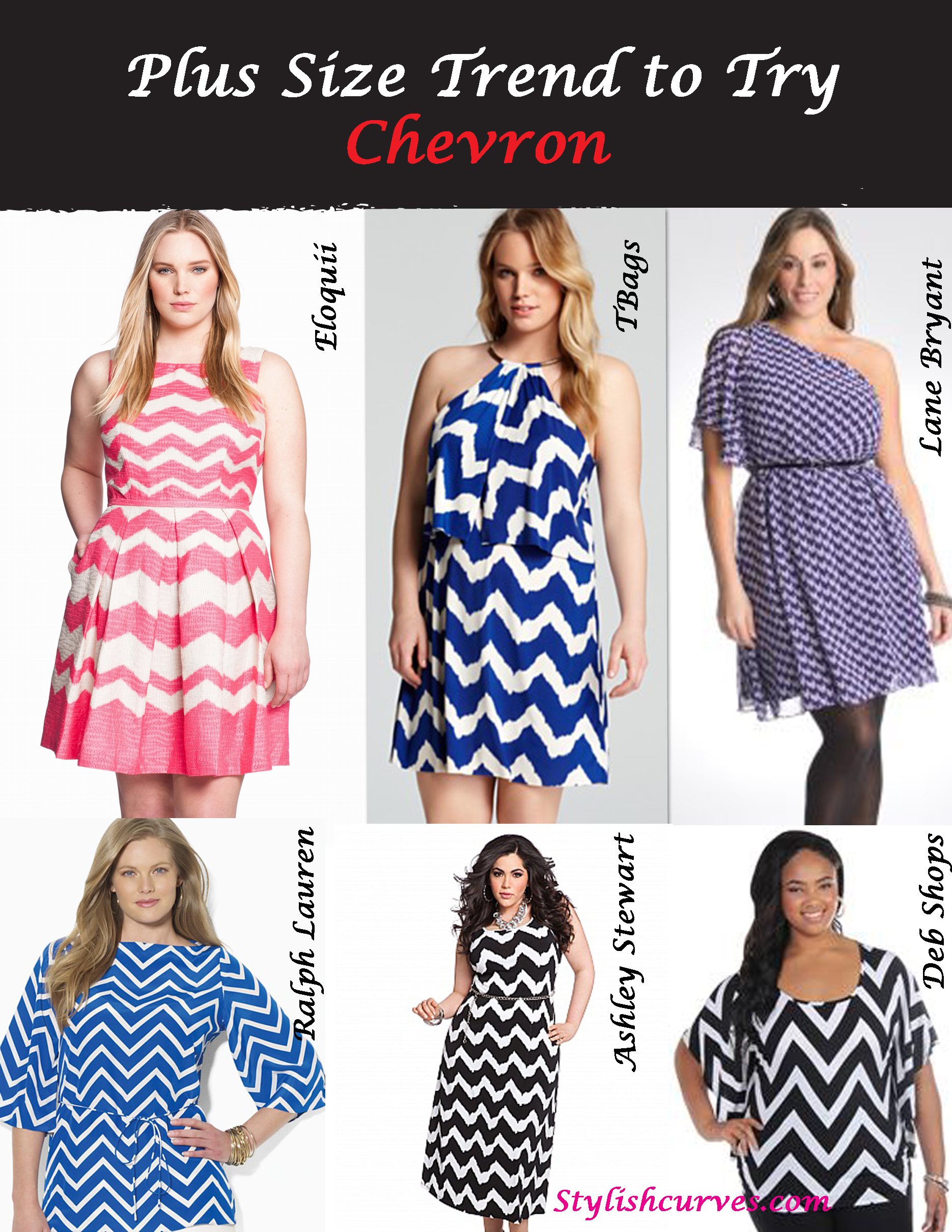 Plus Size Trend To Try Chevron Stylish Curves