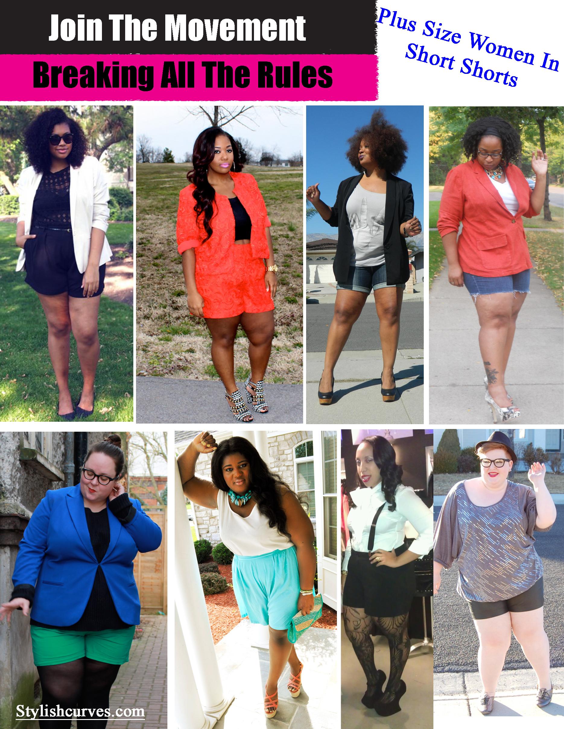 Short Plus Size Women