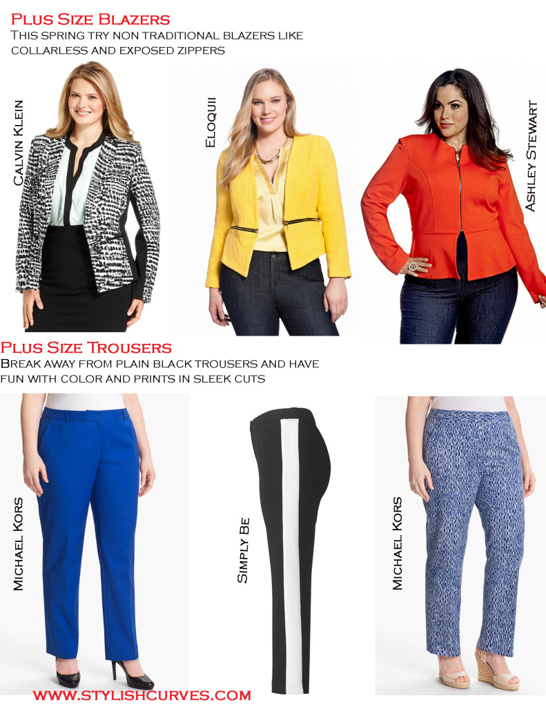 STYLISH CURVES PLUS SIZE SHOPPING GUIDE FOR SPRING OFFICE ...