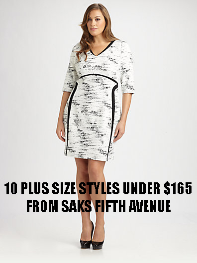 PLUS SIZE STYLES UNDER $165 FROM SAKS FIFTH AVENUE SALE | Stylish Curves