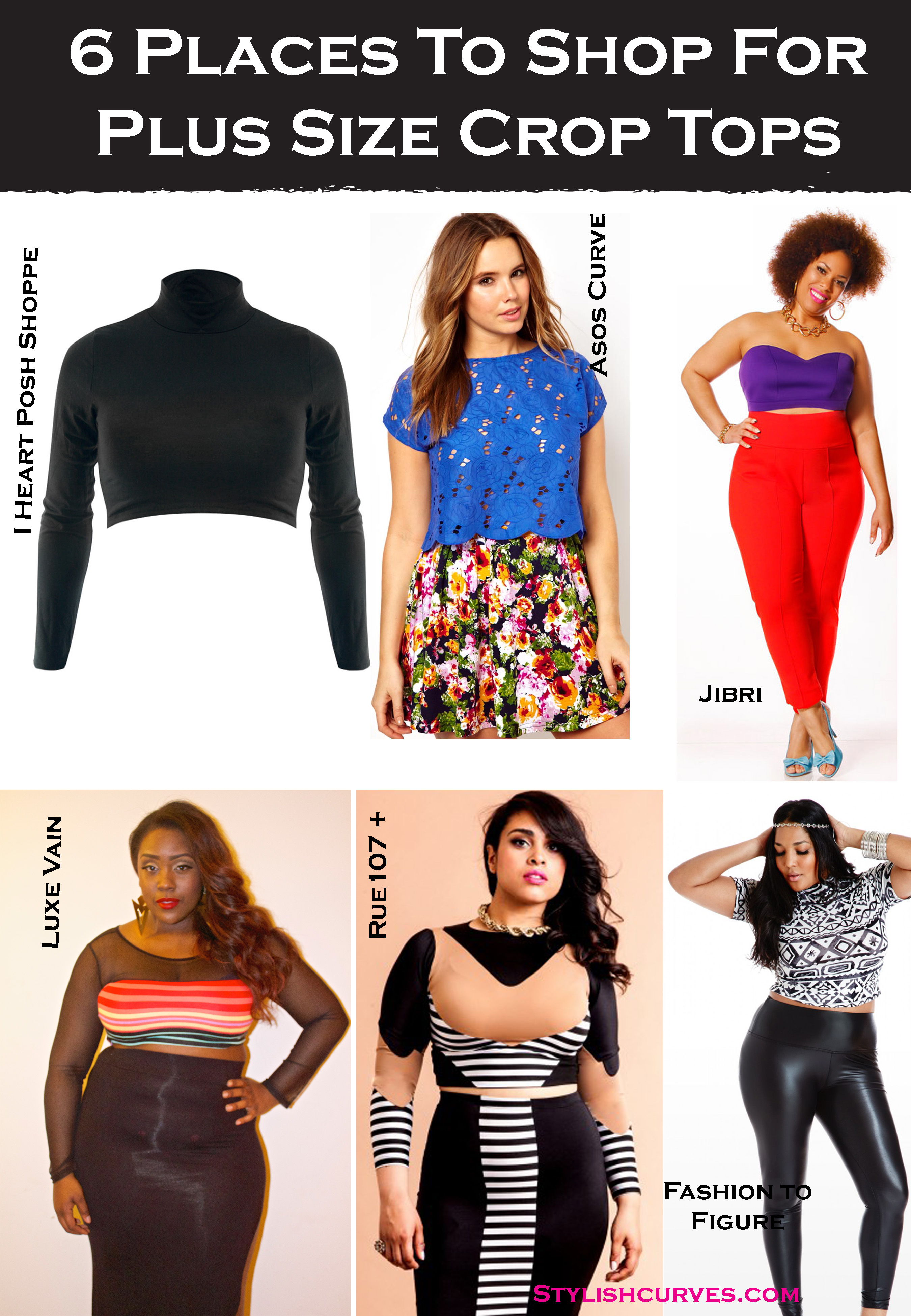 ask sc: 6 places to shop for plus size crop tops   stylish curves