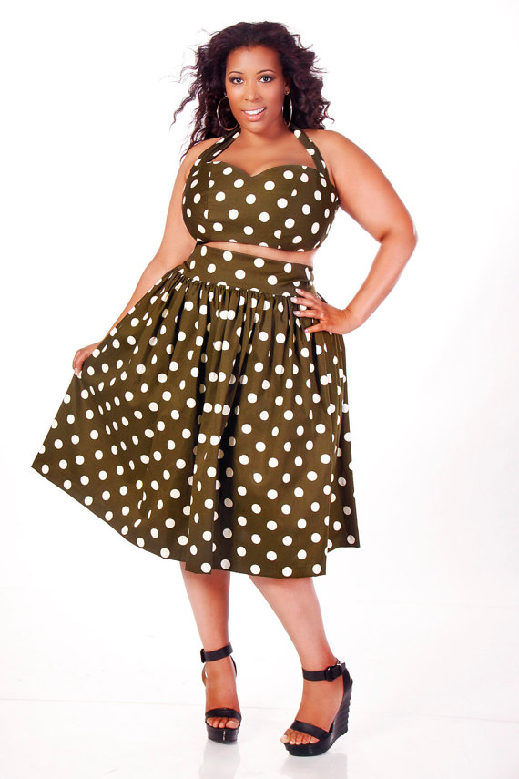 JIBRI RELEASES NEW PLUS SIZE SUMMER DRESSES AND SKIRTS  54b2eff745b7