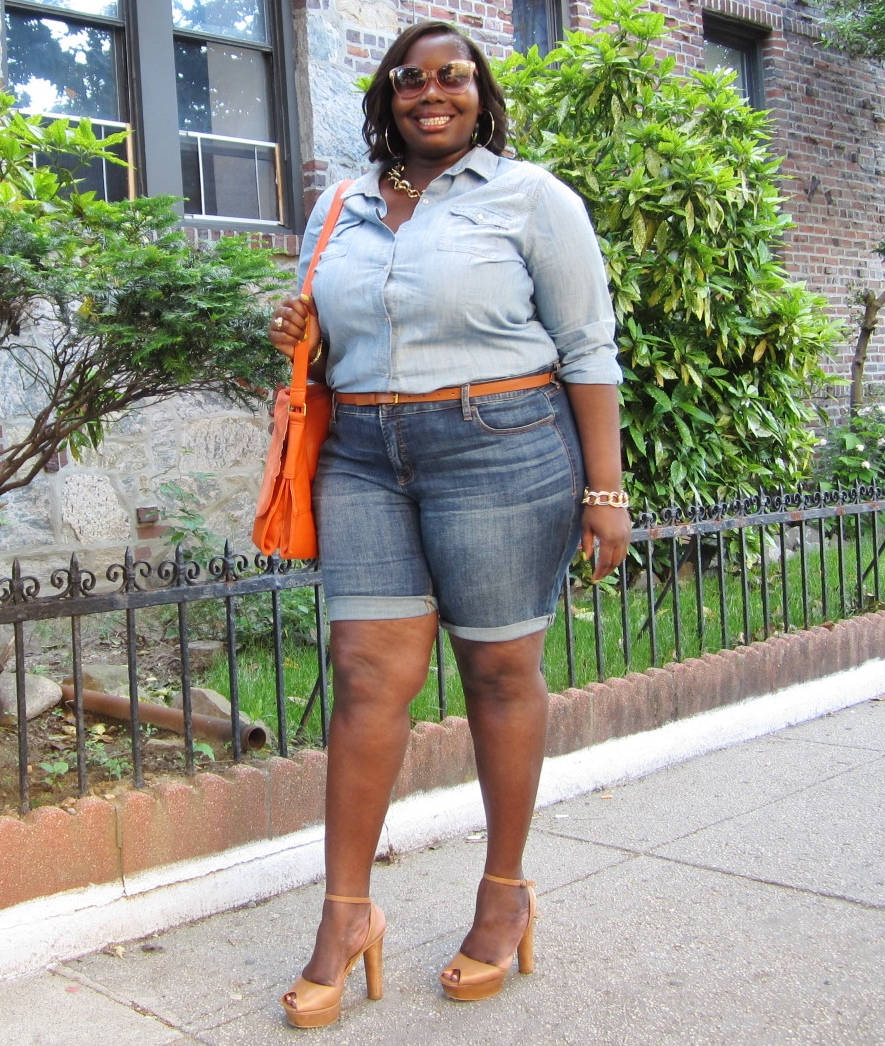 STYLE JOURNEY: JCPENNEY DENIM PLUS SIZE BERMUDA SHORTS | Stylish ...