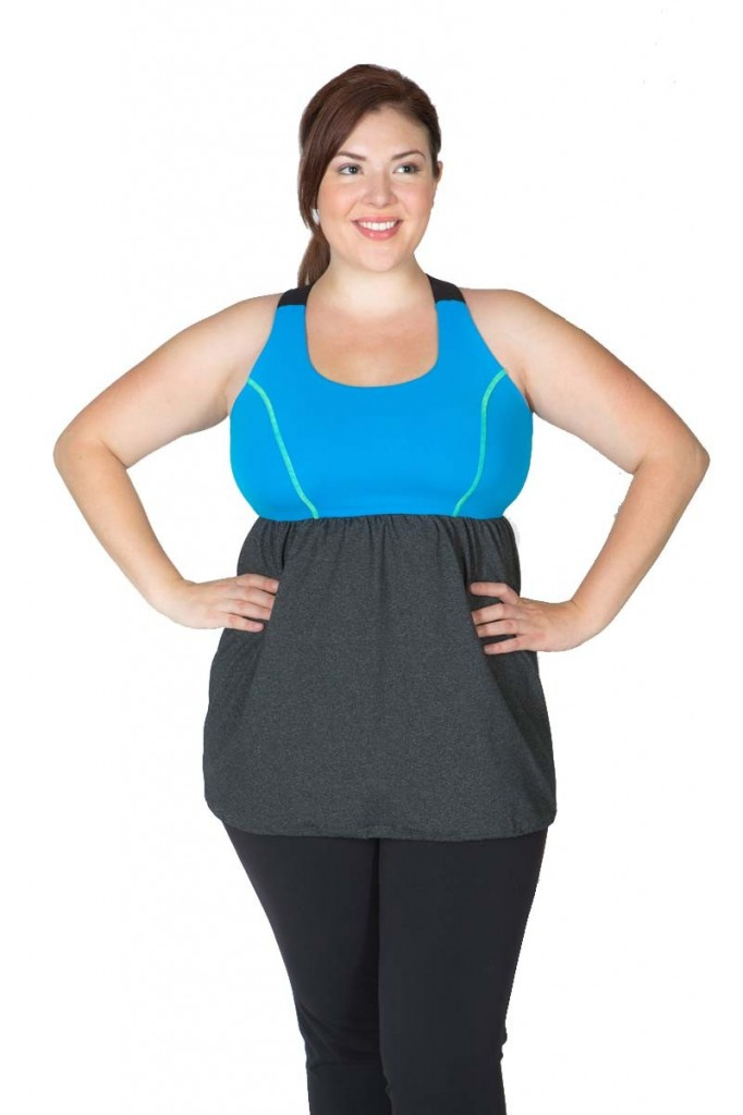 Lola getts active plus size workout gear stylish curves lola getts plus size activewear tank 682x1024 sciox Images
