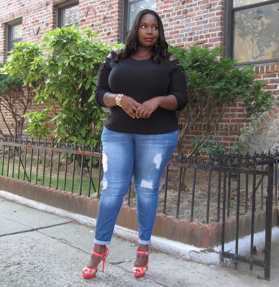 STYLE JOURNEY: RIPPED UP | Stylish Curves