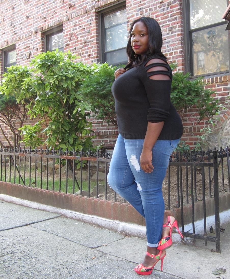 STYLE JOURNEY: RIPPED UP | Stylish Curves