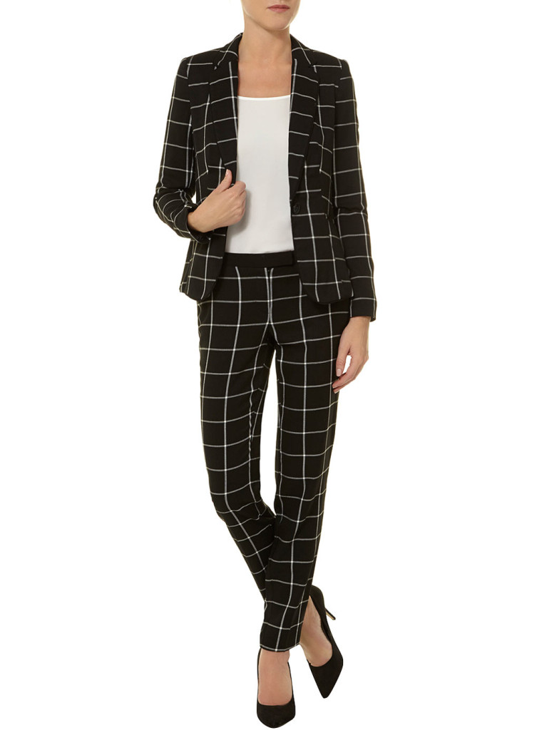 WORK-WEAR WEDNESDAY: PRINTED PLUS SIZE SUITS | Stylish Curves