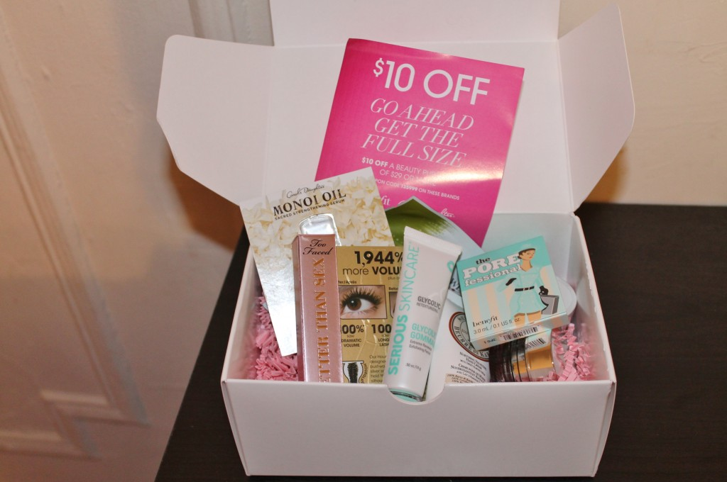 BEAUTY TALK: TOTAL BEAUTY.COM FOR HSN SAMPLE BOXES | Stylish Curves