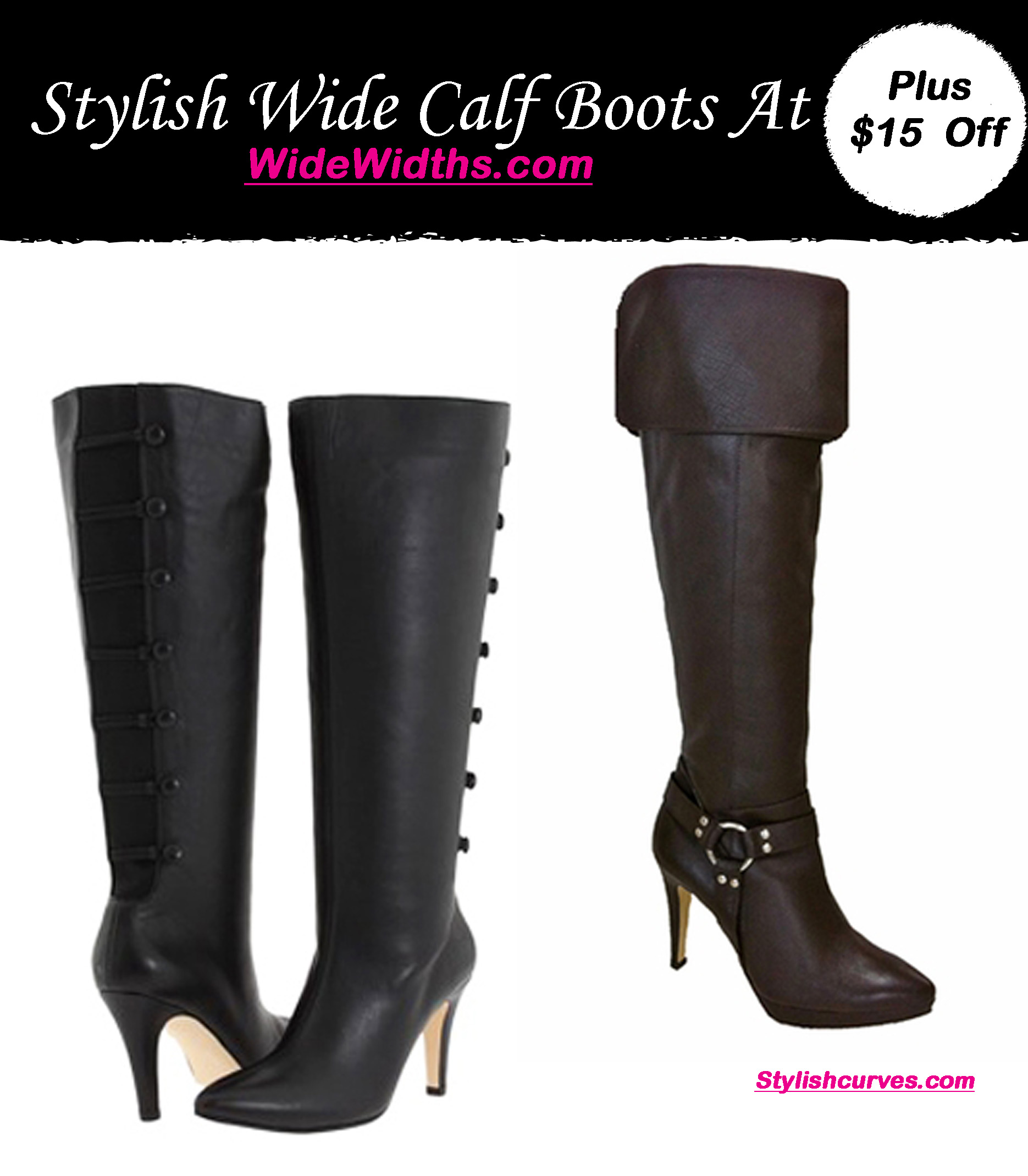 STYLISH WIDE WIDTH BOOTS FROM WIDEWIDTHS.COM, PLUS GET $15 OFF ...