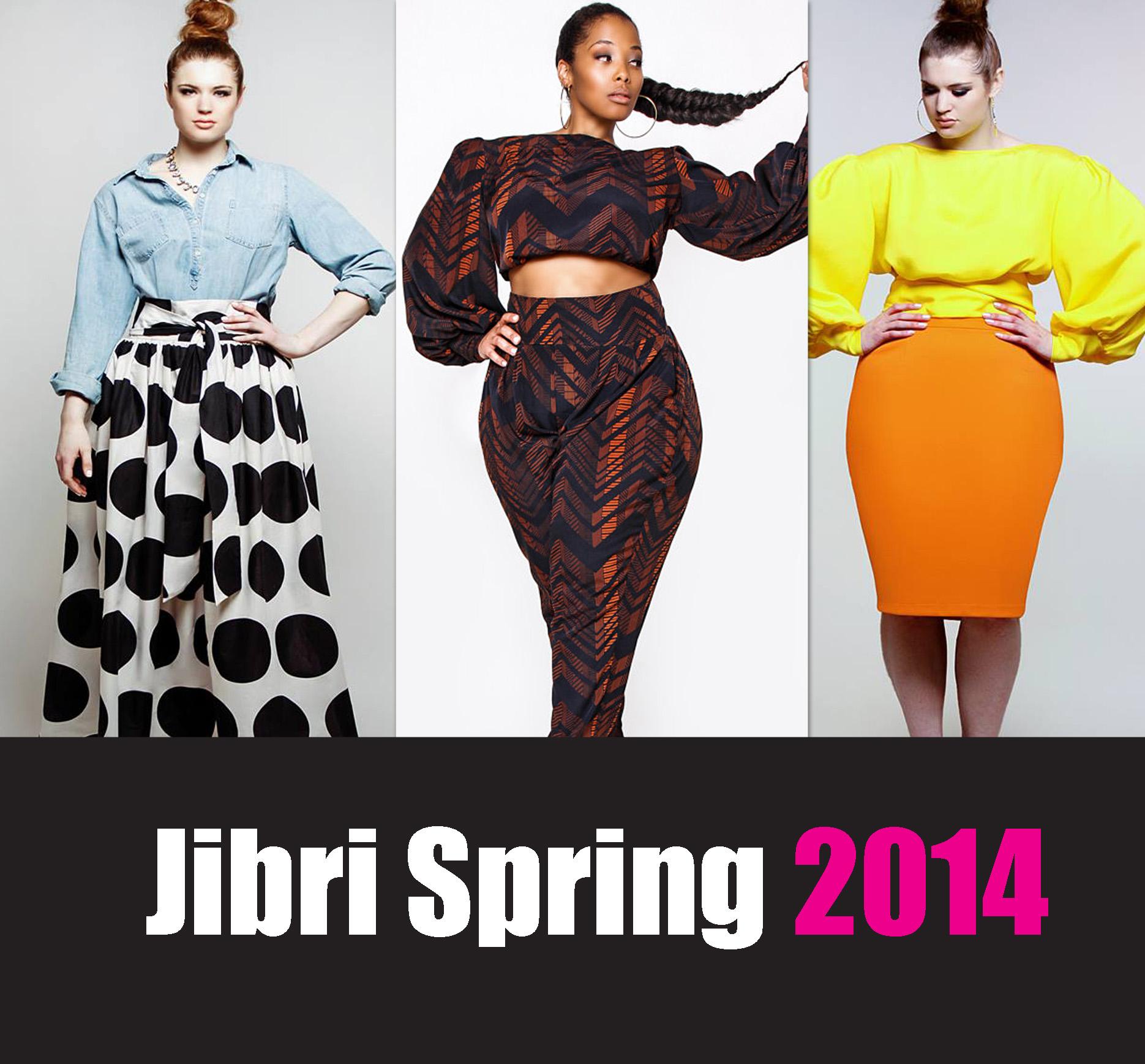 plus size designer jibri unveils her spring 2014 collection