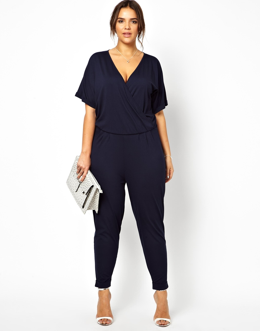 chic plus size jumpsuits for spring stylish curves. Black Bedroom Furniture Sets. Home Design Ideas