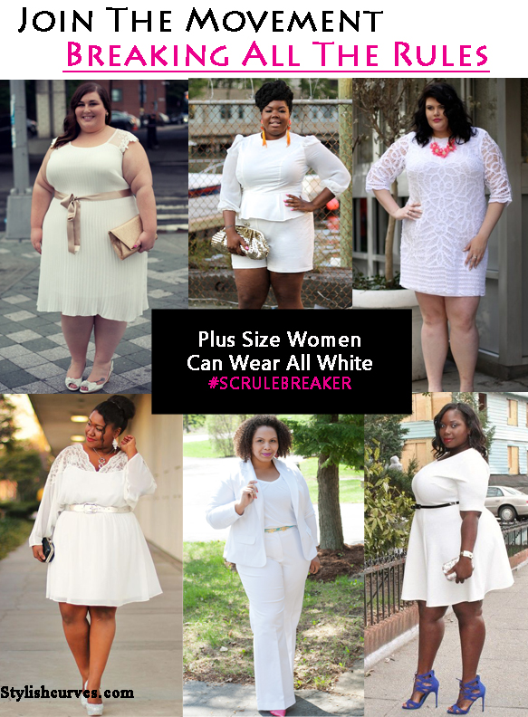 BREAKING ALL THE RULES: PLUS SIZE WOMEN CAN WEAR ALL WHITE | Stylish ...