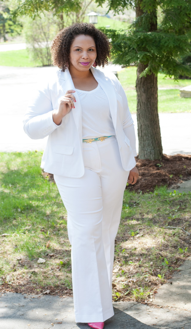 Breaking All The Rules Plus Size Women Can Wear All White Stylish