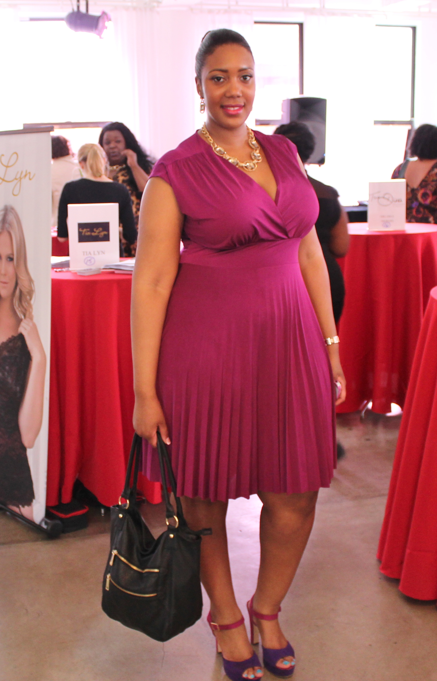 ALISSA ON THE SCENE: FULL FIGURED FASHION WEEK PRESS PREVIEW | Stylish ...