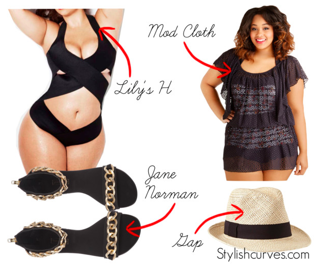 PLUS SIZE OUTFIT IDEAS What To Wear To A Pool Party? | Stylish Curves
