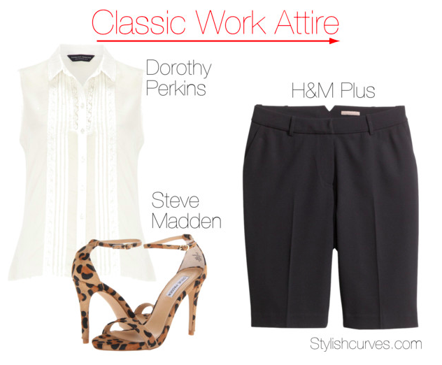 38a286103a6 Workwear Wednesday  3 Super Chic Summer Work Outfits For Plus Size ...