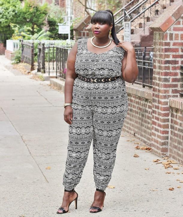 Style Journey American Rag Tribal Print Plus Size Jumpsuit