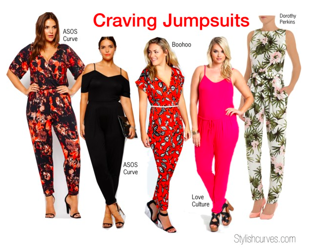 Fashion Plus Size Jumpsuits That Your Curves Crave Stylish Curves