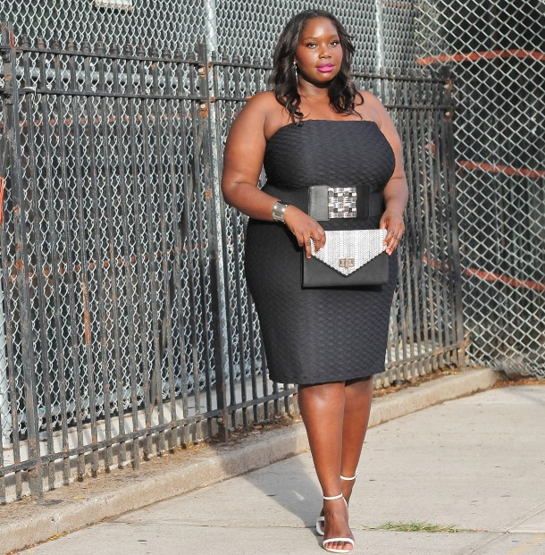 Style Journey The Not So Little Black Dress Stylish Curves