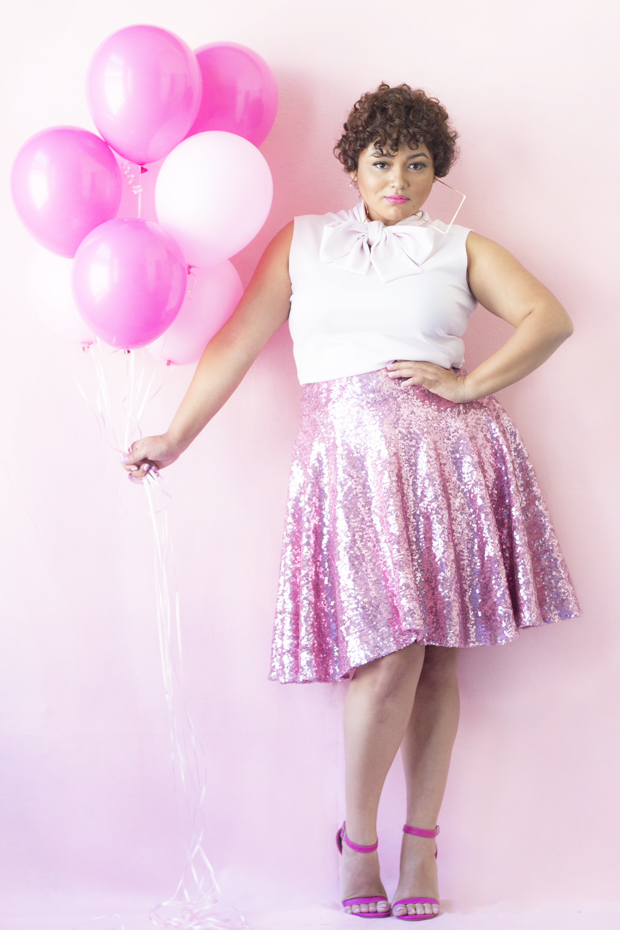 ZELIE FOR SHE SUPPORTS BREAST CANCER AWARENESS WITH A GLAMOROUS ...
