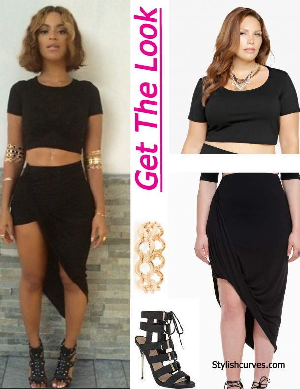 Get beyonces made in america look in plus size
