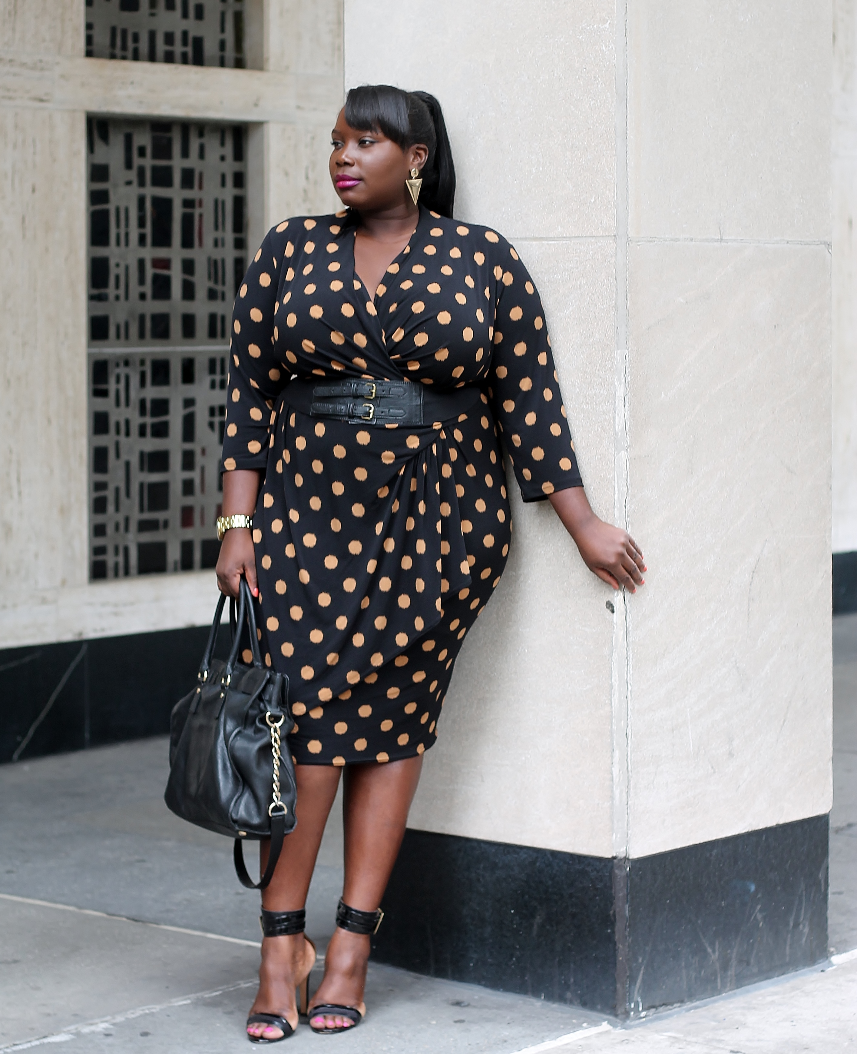 workwear wednesday: 5 bold printed plus size dresses perfect for