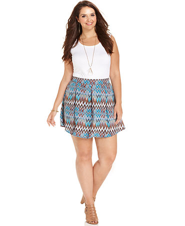 Plus Size Culottes_Macys
