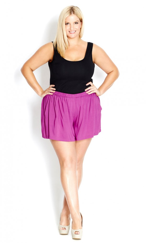 Plus Size Culottes_OneStopPlus_CityChic