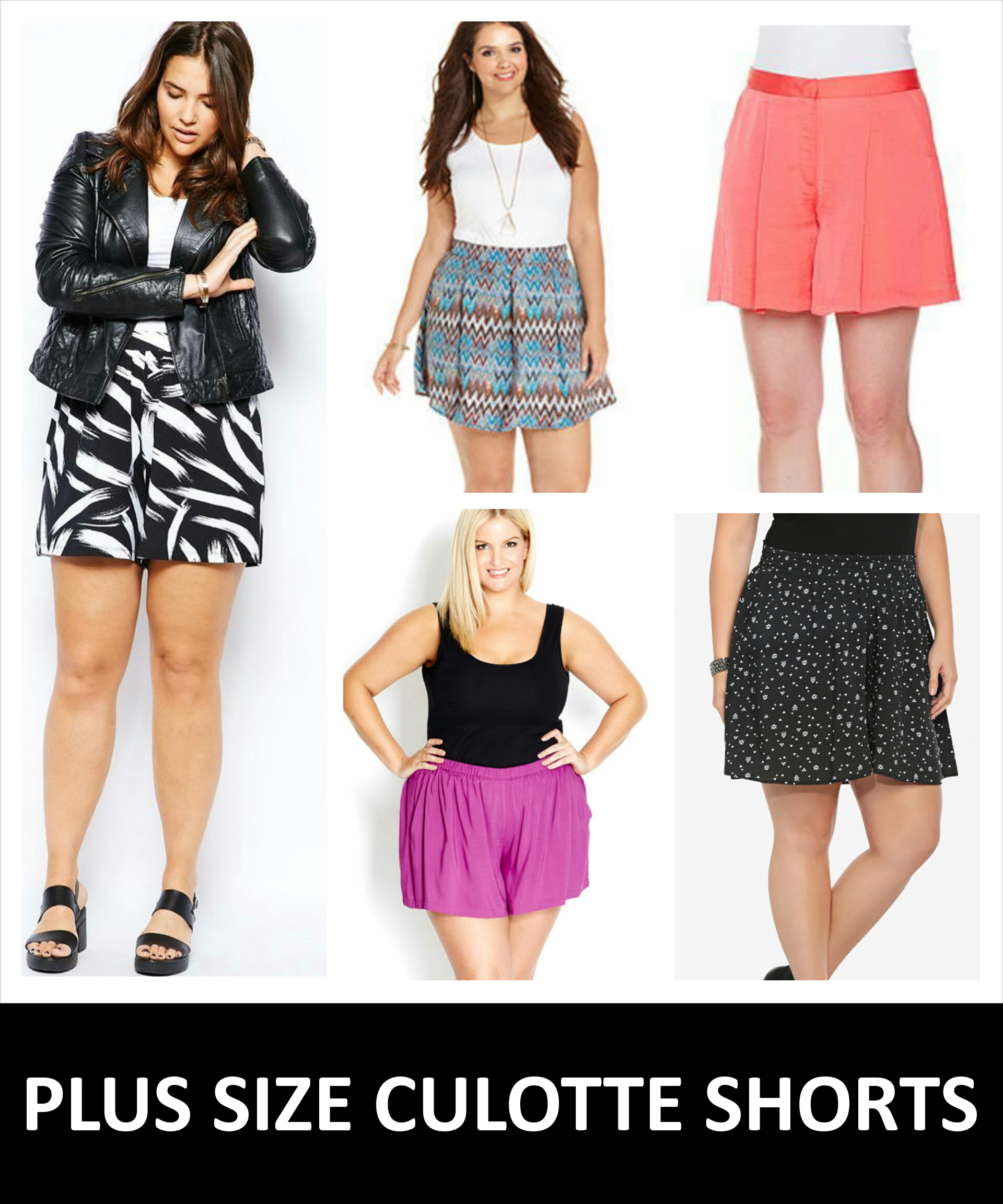 4860e95af77 5 REASONS WHY PLUS SIZE CULOTTE SHORTS ARE AWESOME