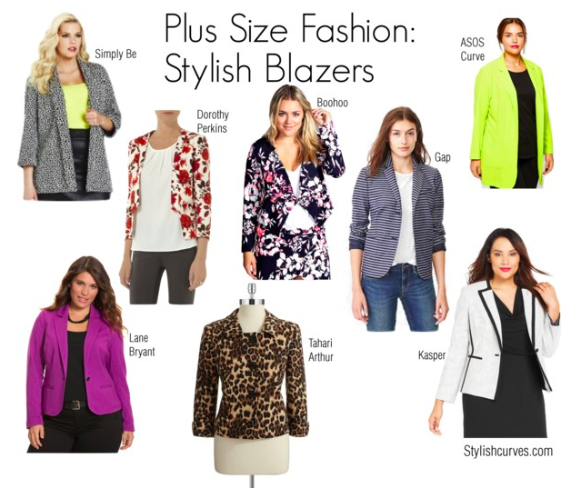 Fall 2014 Plus Size Dresses Is a stylish blazer ok to wear