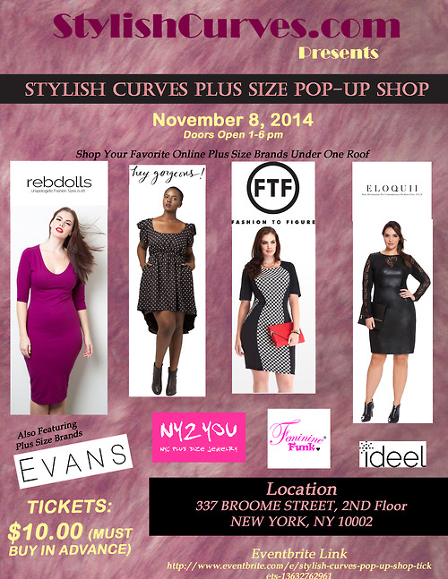 Stylish Curves Pop Up Shop