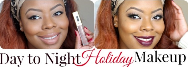 Day to Night Holiday MakeupCollage Final