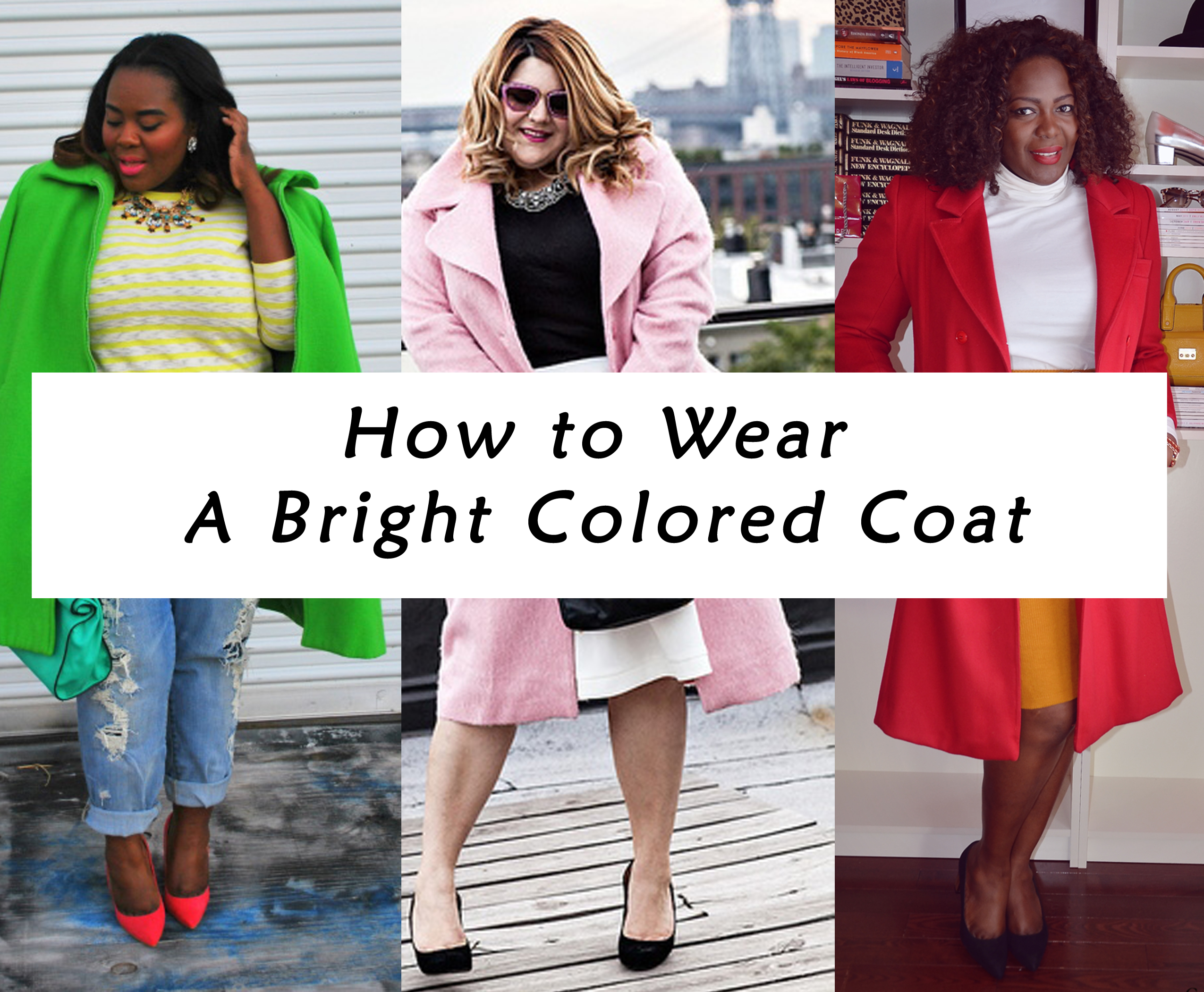 7f878492400 How To Wear A Bright Colored Coat For Fall   Winter (Plus Size Fashion)