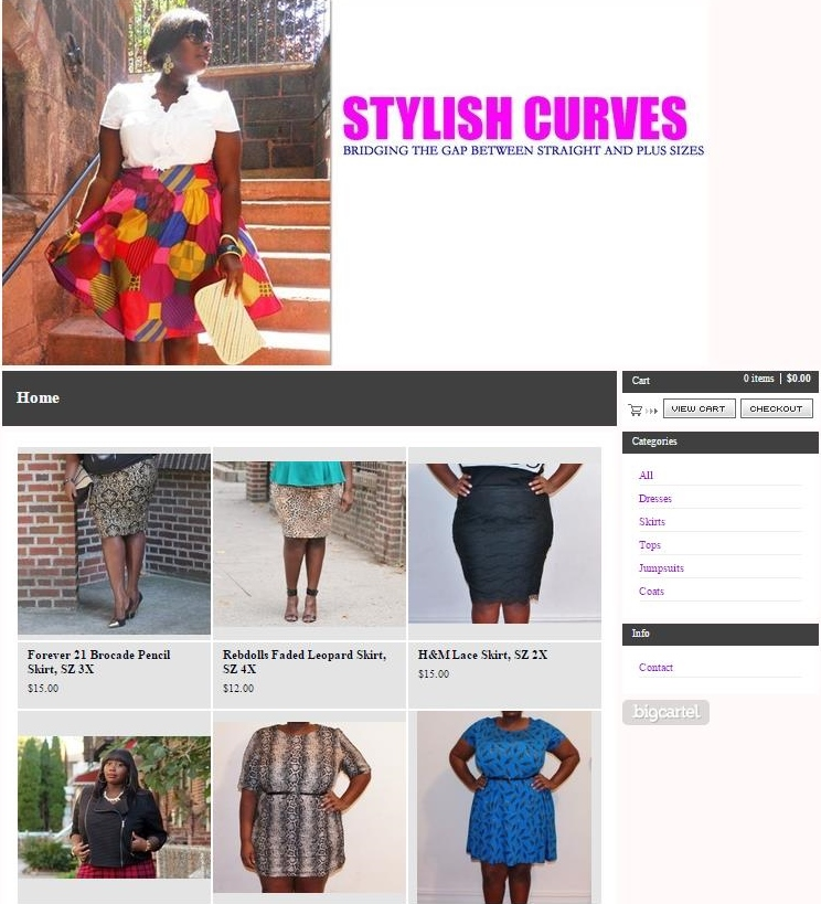 Shop Stylish Curves Online Store