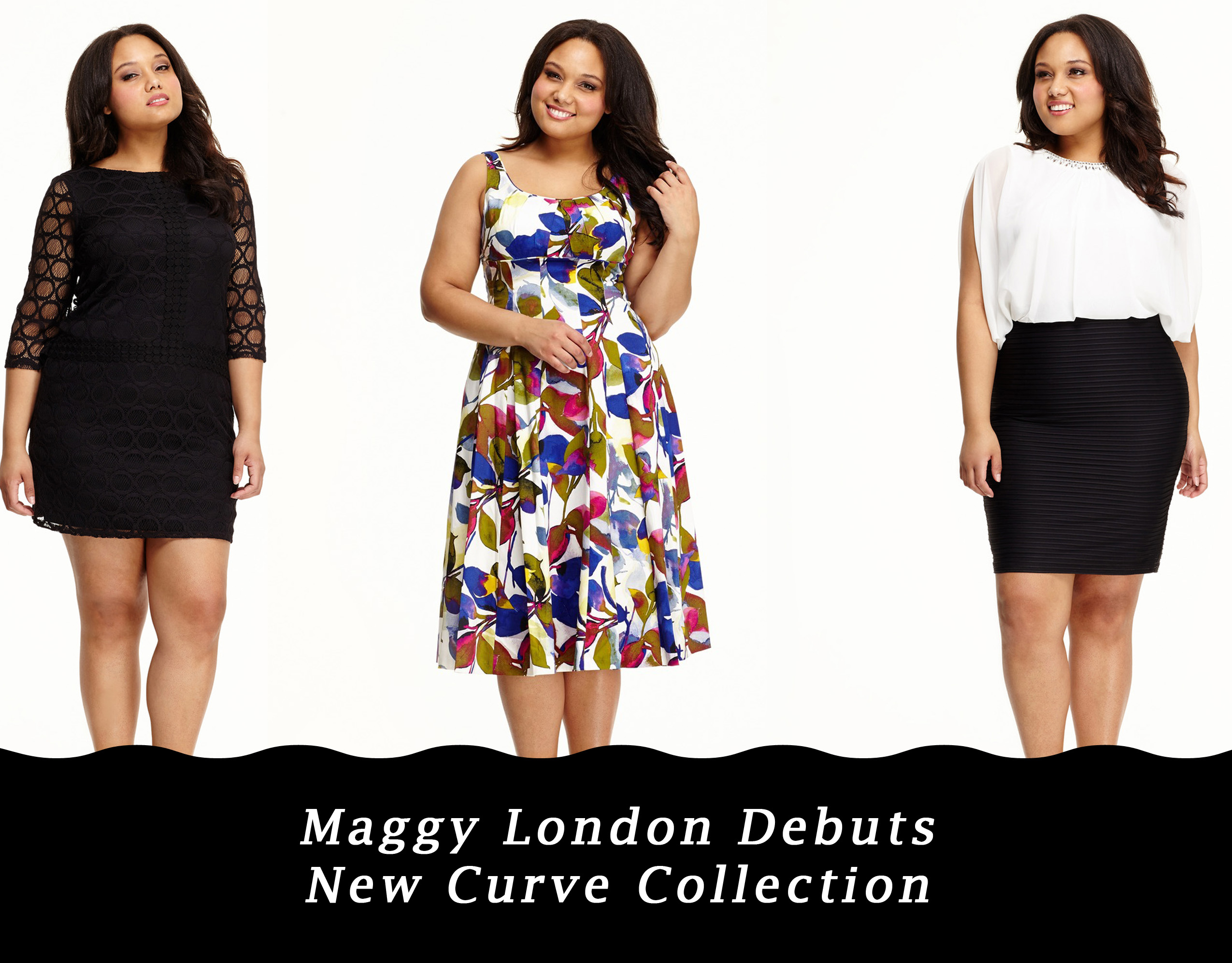 Maggy London Debuts Their New Curve Collection Featuring Plus Size Model Grisel