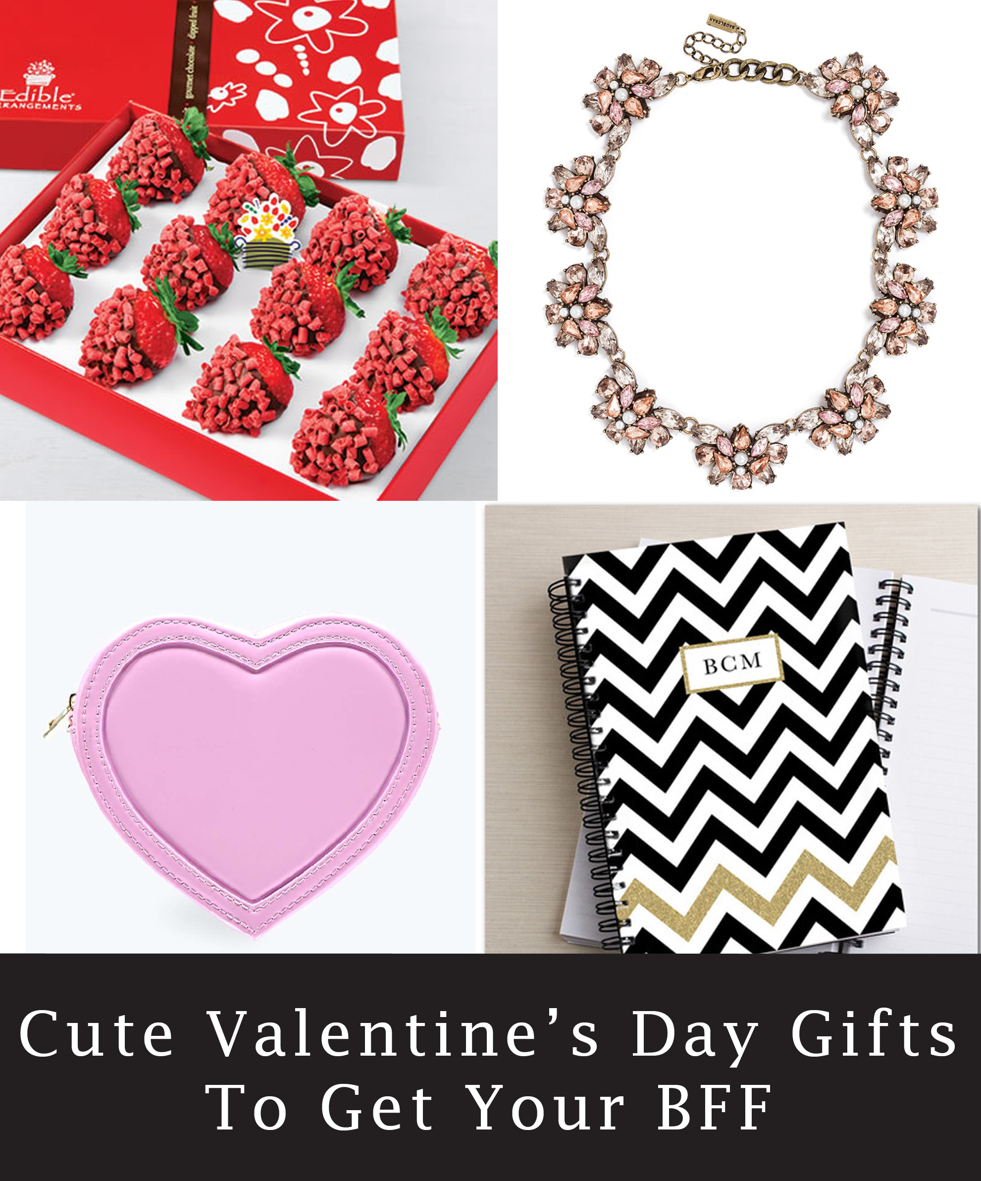 7 cute and girly valentine's day gift ideas for your bff | stylish