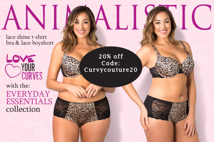 20% off Curvy Couture Lingerie