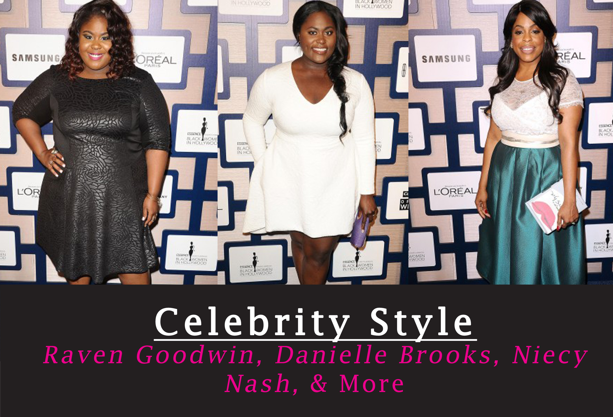 Shonda Rhimes, Raven Goodwin, Danielle Brooks, and Niecy Nash at Essence Black Women In Hollywood Event