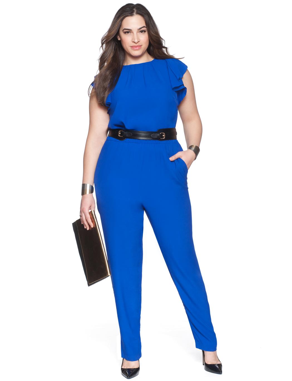 The Most Amazing Blue Plus Size Jumpsuit Ever Is SC Pick ...
