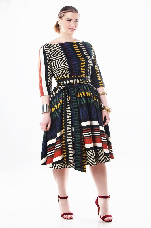 Plus Size Designer Jibri Drops A Colorful Ethnic Inspired Spring ...