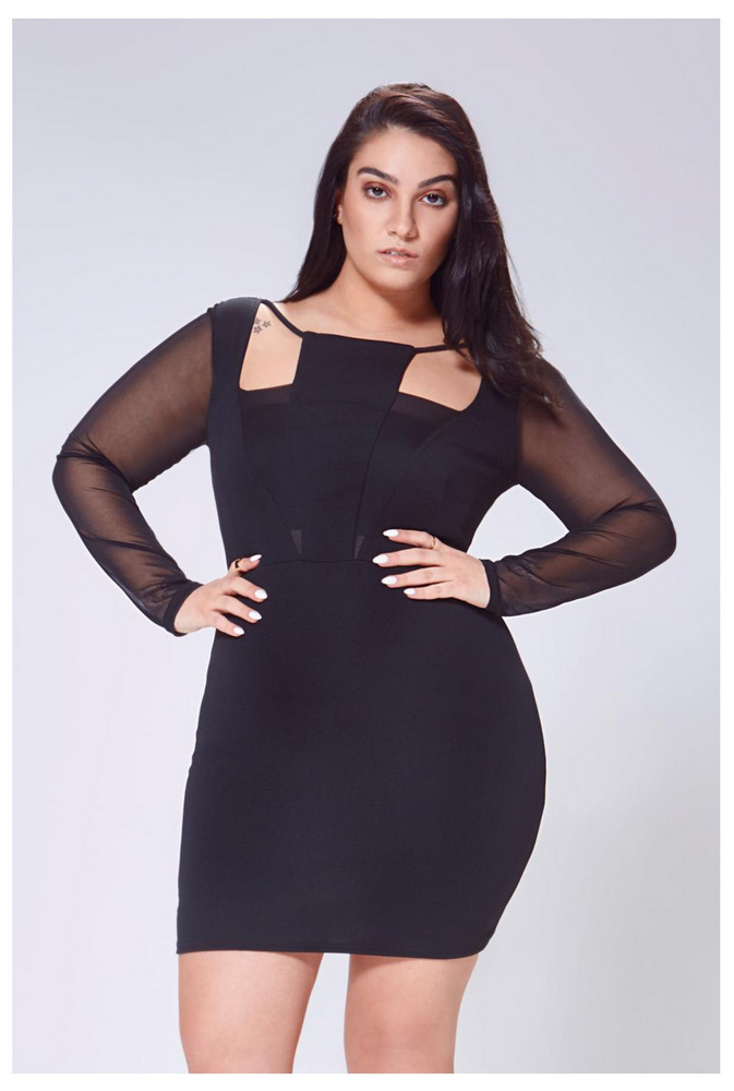 Nadia Aboulhosn Boohoo Spring Collection For Plus Size Girls Is ...