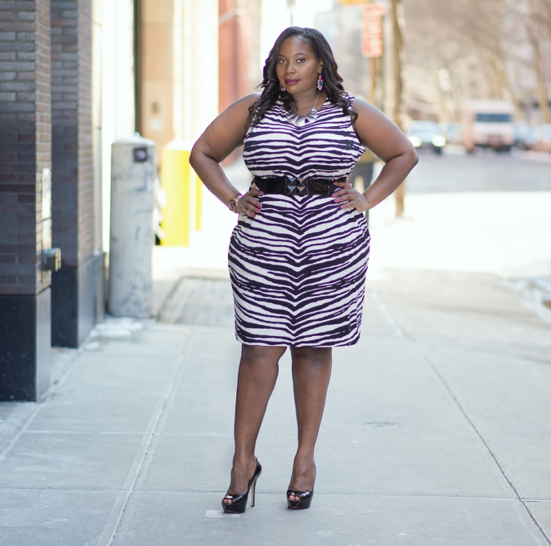 Keeping It Classy Chic In Jennifer Lopez Plus Size Collection For