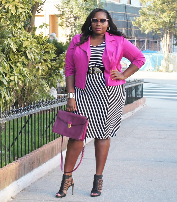 Showing Love In Pink, Black, & White (Workwear Wednesday)